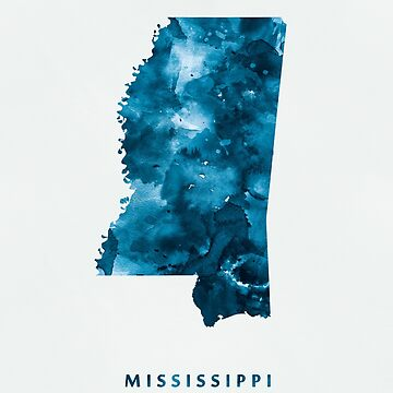 Mississippi by MonnPrint