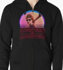 Adventures In Babysitting Zipped Hoodie