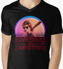 Adventures In Babysitting Men's V-Neck T-Shirt