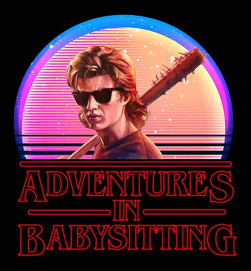 Adventures In Babysitting Posters By Kjanedesigns Redbubble