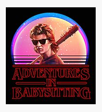 Adventures In Babysitting Photographic Print