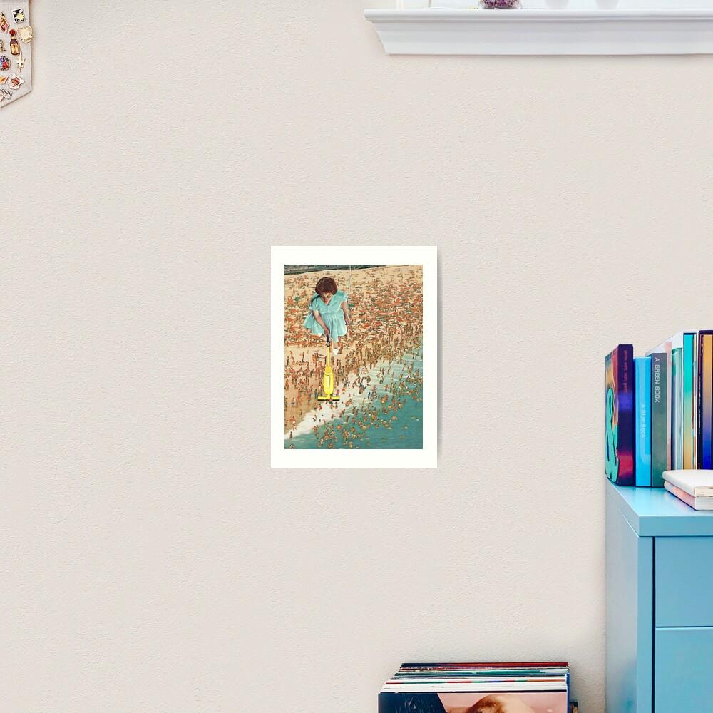 OCD Lady Art Print