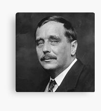 H.G. Wells Canvas Print