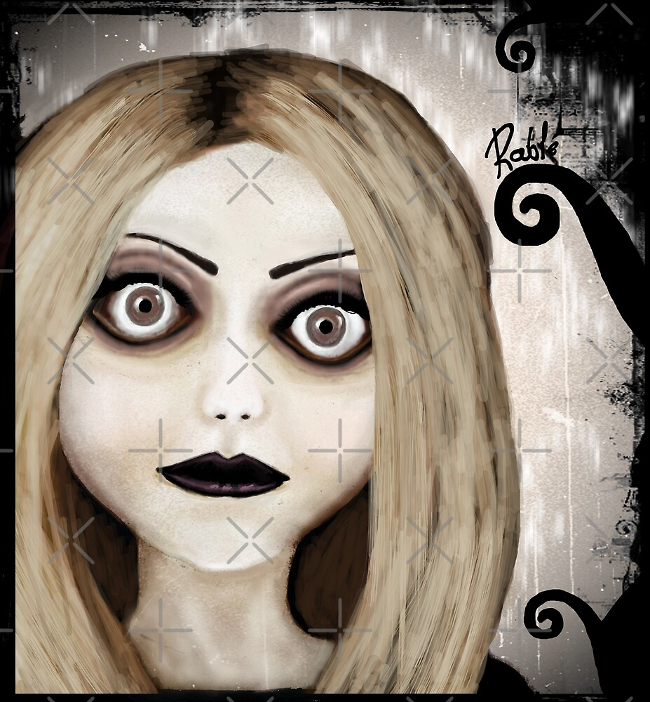 Dear little doll series... TIFFANY by ROUBLE RUST