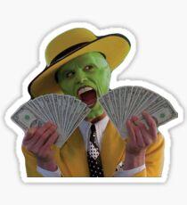 Jim Carrey The Mask Sticker