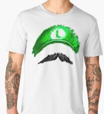 LUIGI Mustachio! Men's Premium T-Shirt