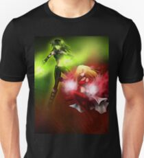 Two Super Heroes Unisex T-Shirt