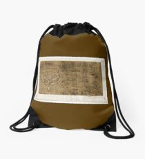 Collage Of Vintage Sheet Music - Beeswax Drawstring Bag