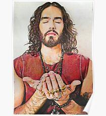 Russell Brand Fan art Poster