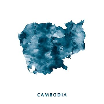Cambodia by MonnPrint