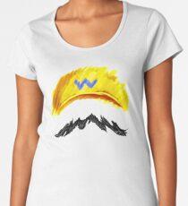 WARIO Mustachio! Women's Premium T-Shirt