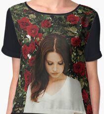 Lana Del Rey - Roses Chiffon Top