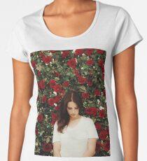 Lana Del Rey - Roses Women's Premium T-Shirt