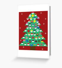Ugly Pokemon Sweater Greeting Card