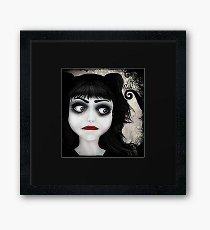 Dear little doll series... EUGENIA Framed Print