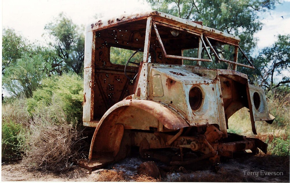 Blitz Wagon by Terry Everson