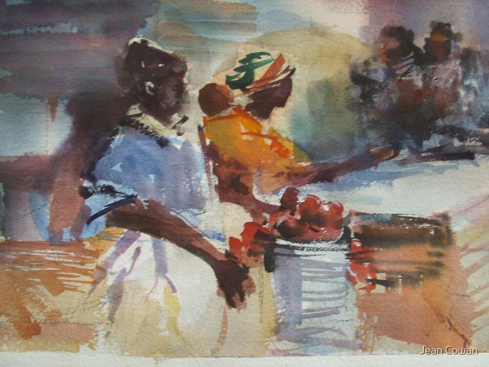 Mozambique market by Jean Cowan