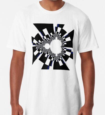 Mandelbrot XVI - Black Long T-Shirt