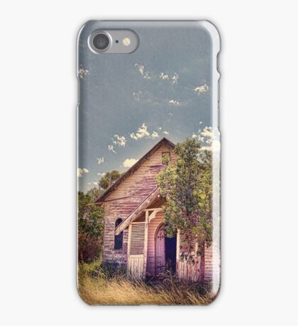 The old church iPhone Case/Skin