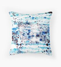 Mediterranean Sealife Throw Pillow