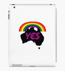 gay weddings iPad Case/Skin