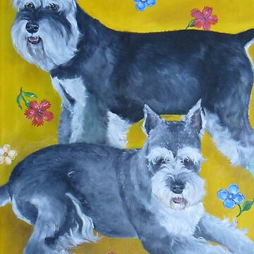 Schnauzers by grounddogs