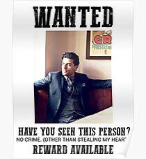 gesucht: oscar isaac Poster