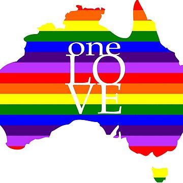 One Love Australia by TKSS