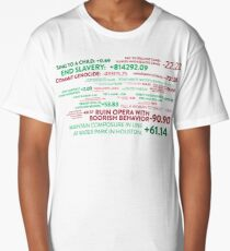 The Good Place - Points System Long T-Shirt