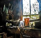Through The Toolshed Window -- Peacham, Vermont by T.J. Martin