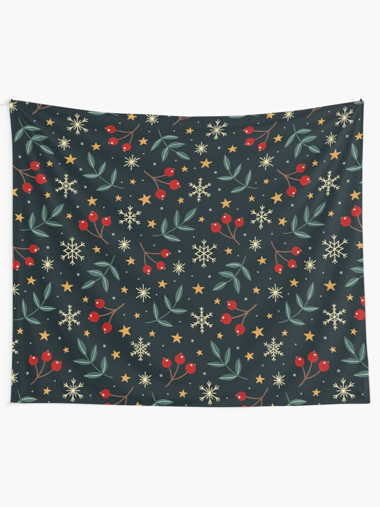Alternate view of Winter magic Wall Tapestry