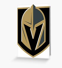 Vegas Golden Knights Greeting Card