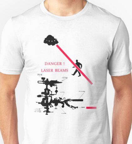 DANGER ! Laser Beams T-Shirt