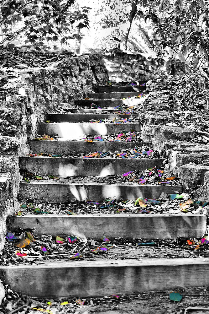 Stairway Into The Light by SueAnne
