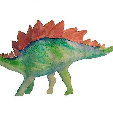 Stegosaurus  by ICannotDraw