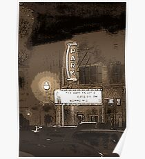The Old Park Theatre in Goderich Ontario Poster