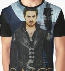 "Captain Hook Comic Poster ""Moonlight"" Graphic T-Shirt"