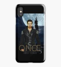"Captain Hook Comic Poster ""Moonlight"" iPhone Case"