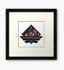 League of Legends ZED Framed Print