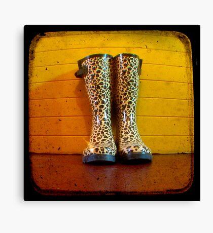 Gumboots Canvas Print