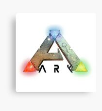 ARK Survival Logo Merchandise Metal Print