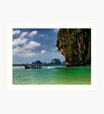 Tropic Sea Art Print