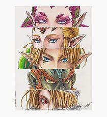 Zelda: Ocarina of Time eyes Photographic Print