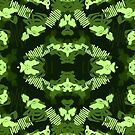 Greener paint brush pattern repeated volume one by Wave Lords United
