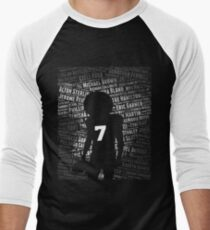Black Lives Matter: Why Kaepernick Takes a Knee Men's Baseball ¾ T-Shirt