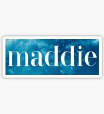 Maddie Sticker