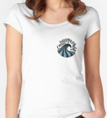 California Coast Women's Fitted Scoop T-Shirt