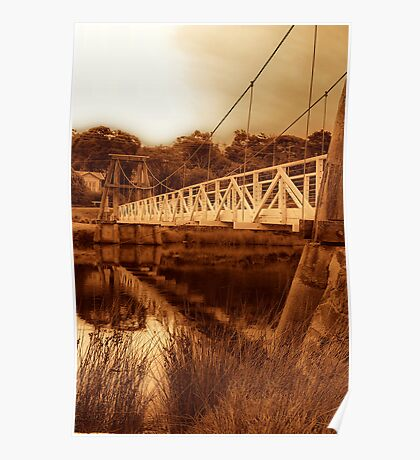 """The Swing Bridge"" Poster"