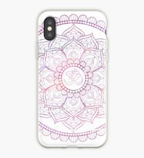 Rosa Lotus iPhone-Hülle & Cover