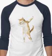 Dabbing Cat Kitten Funny Dab Tee Cool Dance Kitty  T-Shirt